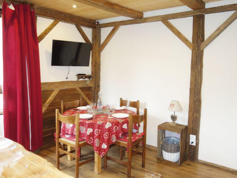 Wakacje w górach Apartament 1 pokojowy 4 osób (2) - Castel des Roches - Saint Gervais - Zakwaterowanie