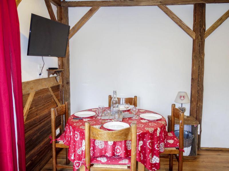 Vacaciones en montaña Apartamento 1 piezas para 4 personas (2) - Castel des Roches - Saint Gervais - Alojamiento