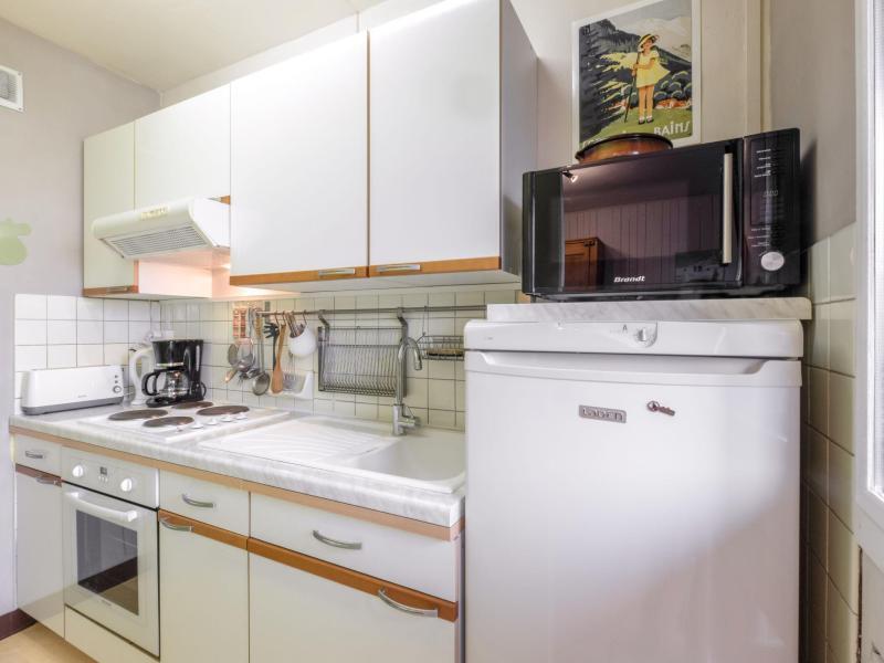 Vacaciones en montaña Apartamento 1 piezas para 4 personas (3) - Castel des Roches - Saint Gervais - Alojamiento