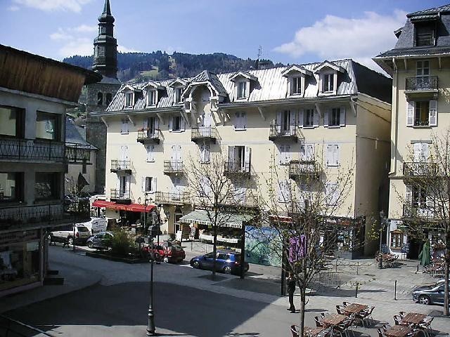Holiday in mountain resort 2 room apartment 4 people (2) - Central Résidence - Saint Gervais - Summer outside