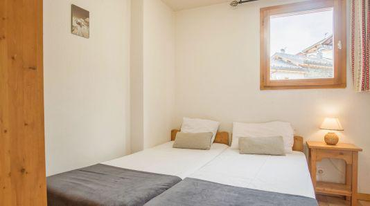 Holiday in mountain resort 3 room apartment 4 people (4) - Chalet Acacia - Saint Martin de Belleville - Accommodation