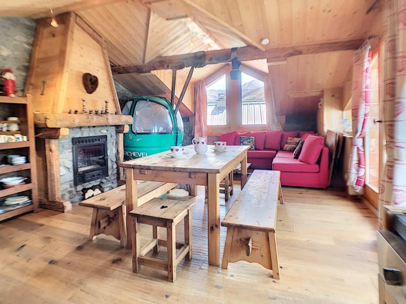 Holiday in mountain resort 5 room chalet 8 people - Chalet Aiglon - Saint Martin de Belleville