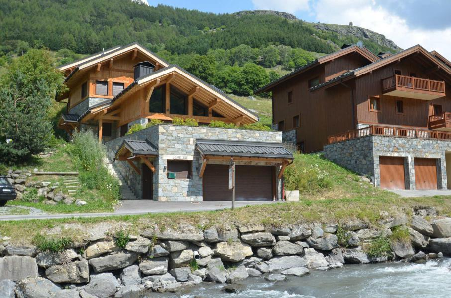 Vakantie in de bergen Chalet Aisha - Les Menuires - Buiten zomer