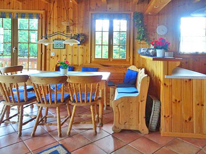Vacances en montagne Chalet Albert - Thyon - Salle à manger