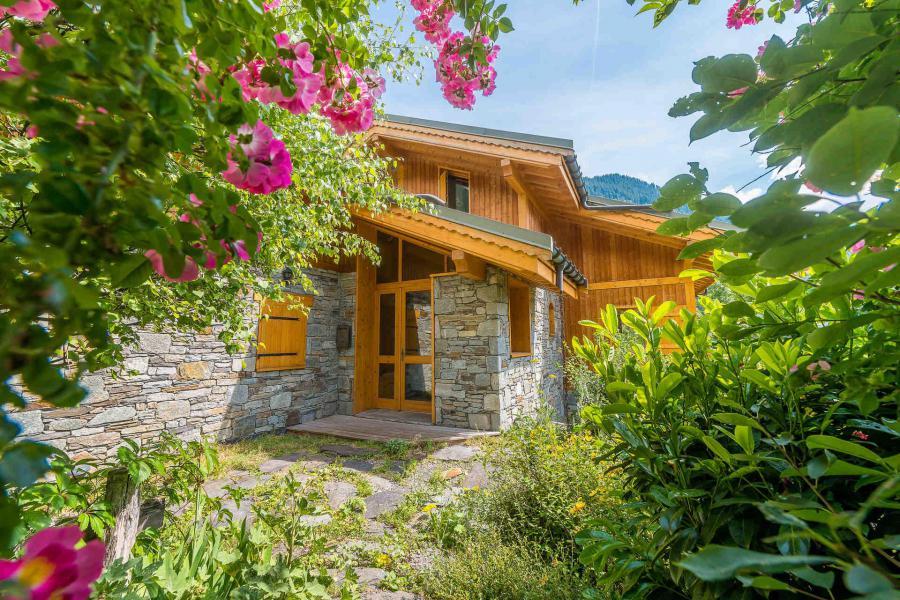 Holiday in mountain resort Chalet Alideale - Champagny-en-Vanoise - Summer outside