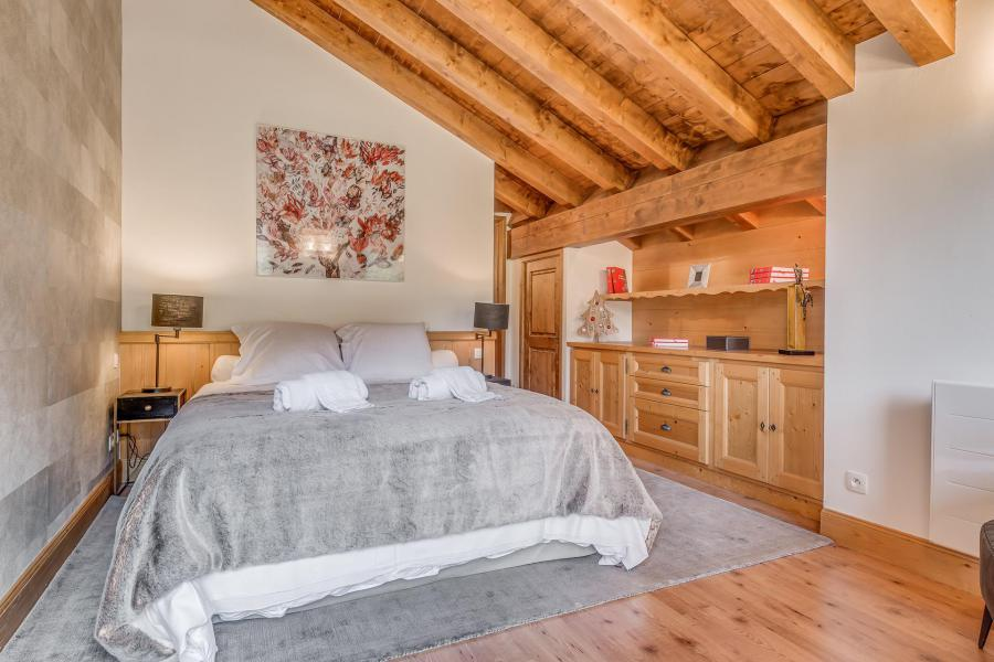 Holiday in mountain resort 7 room triplex chalet 10-12 people - Chalet Alideale - Champagny-en-Vanoise - Double bed