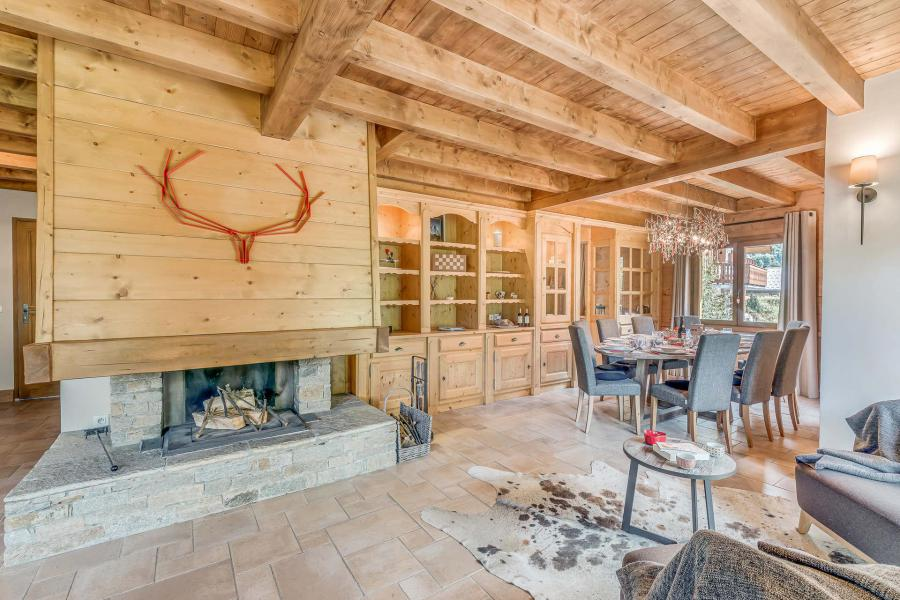 Holiday in mountain resort 7 room triplex chalet 10-12 people - Chalet Alideale - Champagny-en-Vanoise - Fireplace