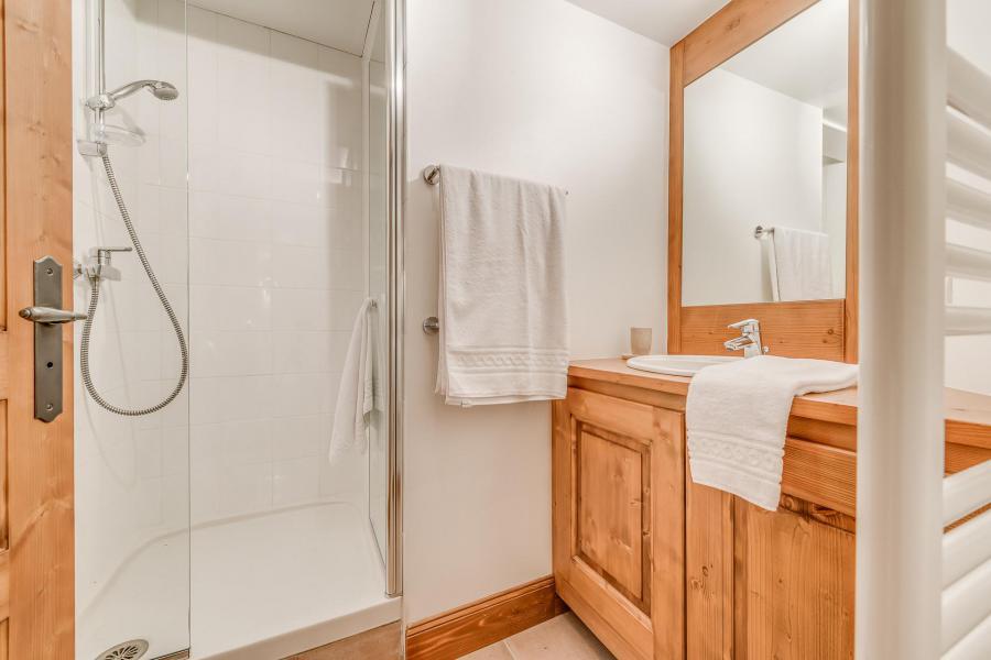 Holiday in mountain resort 7 room triplex chalet 10-12 people - Chalet Alideale - Champagny-en-Vanoise - Shower