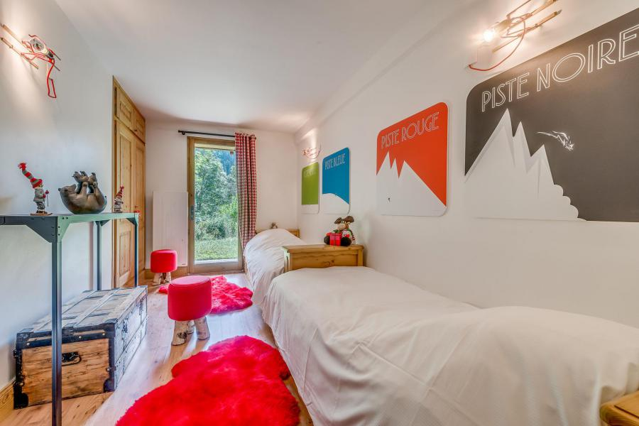 Holiday in mountain resort 7 room triplex chalet 10-12 people - Chalet Alideale - Champagny-en-Vanoise - Single bed
