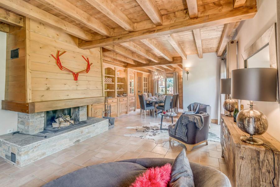 Wakacje w górach Domek górski triplex 7 pokojowy dla 7- 12 osób - Chalet Alideale - Champagny-en-Vanoise - Kominkiem