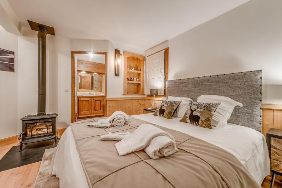 Wakacje w górach Domek górski triplex 7 pokojowy dla 7- 12 osób - Chalet Alideale - Champagny-en-Vanoise - Łóżkem małżeńskim