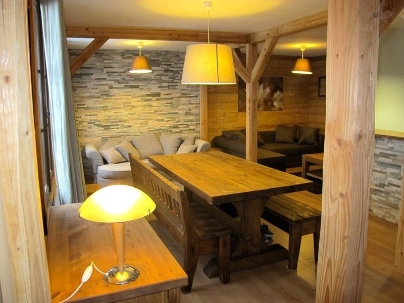 Vakantie in de bergen Chalet Alpenvue - Alpe d'Huez - Eetkamer