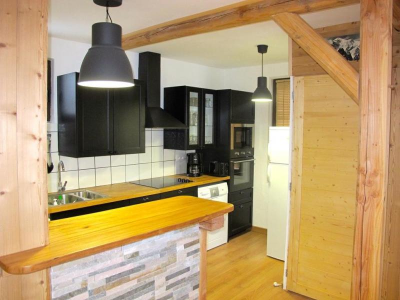 Vakantie in de bergen Chalet Alpenvue - Alpe d'Huez - Open keuken