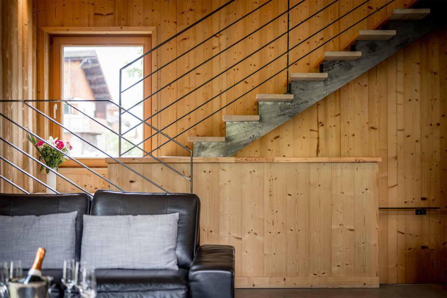Vacances en montagne Chalet Alpinium 2 - Tignes - Escalier