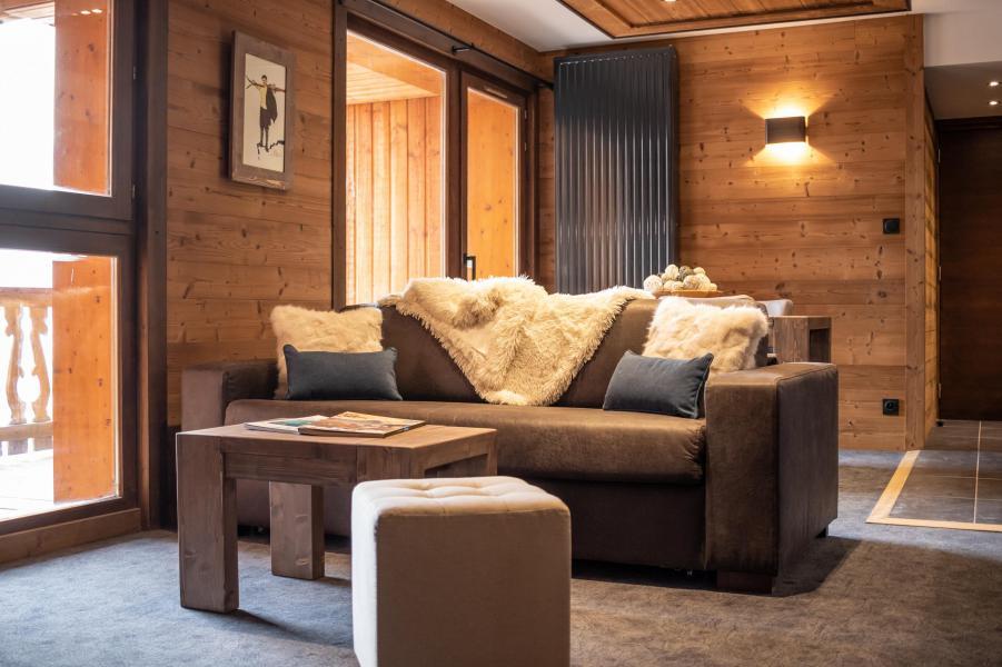 Urlaub in den Bergen 3-Zimmer-Appartment für 4 Personen - Chalet Altitude - Val Thorens - Couchtisch