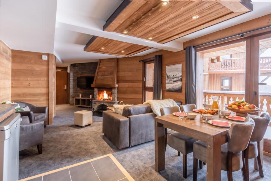 Urlaub in den Bergen 3-Zimmer-Appartment für 4 Personen - Chalet Altitude - Val Thorens - Esszimmer