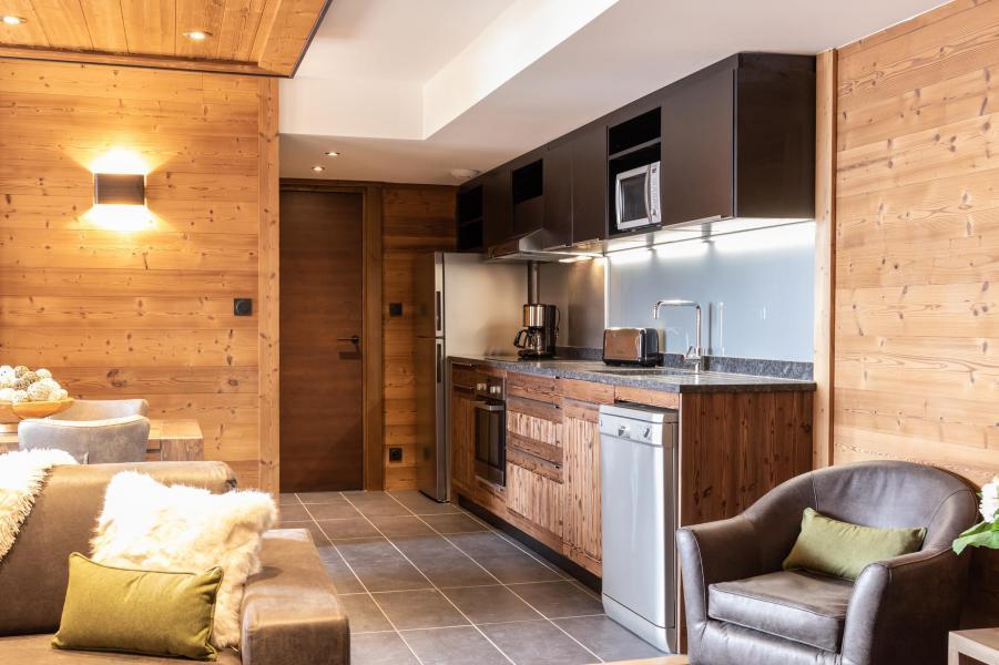 Urlaub in den Bergen 3-Zimmer-Appartment für 4 Personen - Chalet Altitude - Val Thorens - Küche