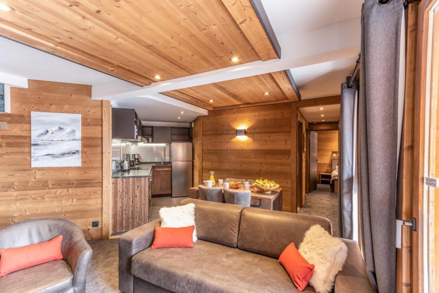 Urlaub in den Bergen 3-Zimmer-Appartment für 4 Personen - Chalet Altitude - Val Thorens - Sitzbank