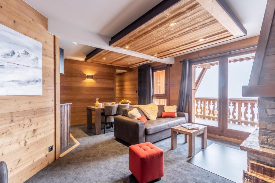 Urlaub in den Bergen 3-Zimmer-Appartment für 4 Personen - Chalet Altitude - Val Thorens - Sofa