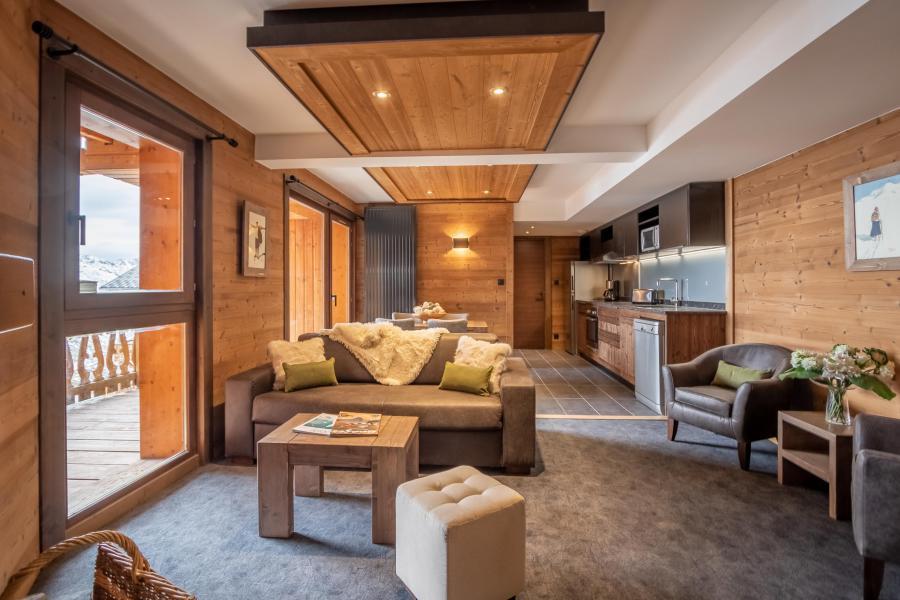 Urlaub in den Bergen 3-Zimmer-Appartment für 4 Personen - Chalet Altitude - Val Thorens - Wohnzimmer