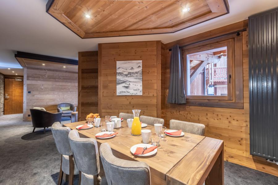 Urlaub in den Bergen 4-Zimmer-Appartment für 6 Personen - Chalet Altitude - Val Thorens - Esszimmer