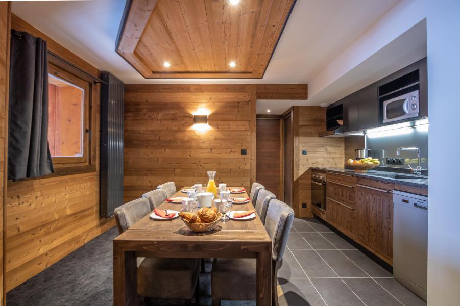 Urlaub in den Bergen 4-Zimmer-Appartment für 6 Personen - Chalet Altitude - Val Thorens - Küche