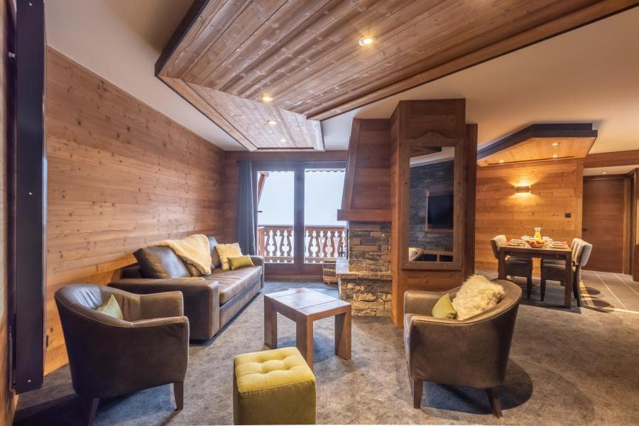 Urlaub in den Bergen 4-Zimmer-Appartment für 6 Personen - Chalet Altitude - Val Thorens - Wohnzimmer