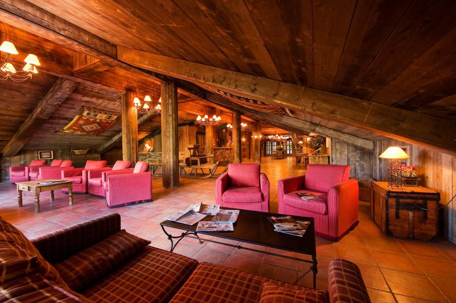 Vakantie in de bergen Chalet Altitude - Les Arcs - Woonkamer