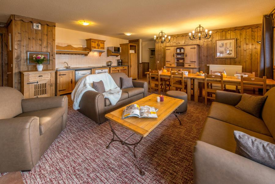 Urlaub in den Bergen 5 Zimmer Appartement für 8-10 Personen - Chalet Altitude - Les Arcs - Wohnzimmer