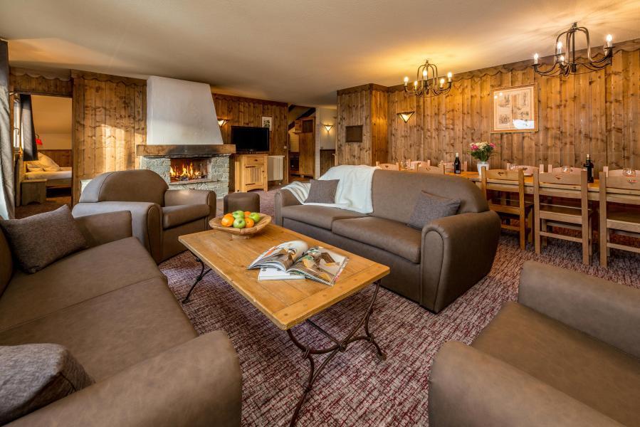 Urlaub in den Bergen 6 Zimmer Appartement für 10-12 Personen - Chalet Altitude - Les Arcs - Sofa
