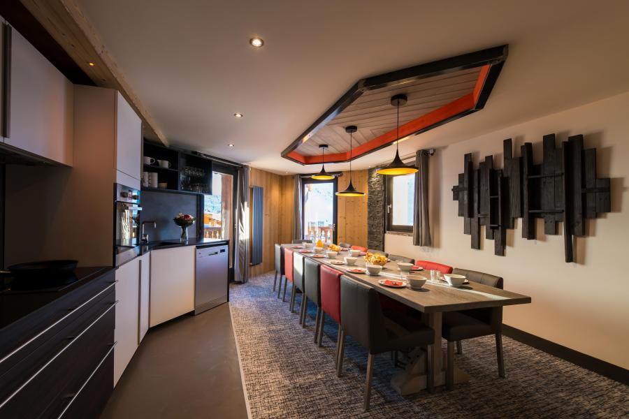 Urlaub in den Bergen 7 Zimmer Appartement für 12-14 Personen - Chalet Altitude - Val Thorens - Küche