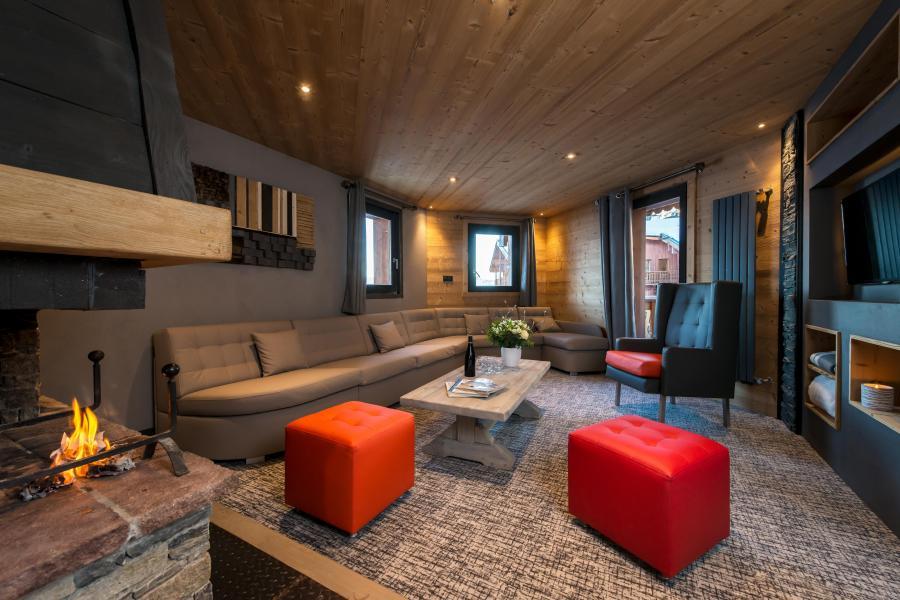 Urlaub in den Bergen 7 Zimmer Appartement für 12-14 Personen - Chalet Altitude - Val Thorens - Wohnzimmer