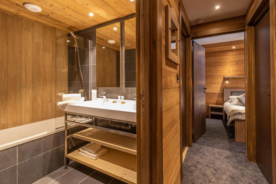 Vacances en montagne Appartement 3 pièces 4 personnes - Chalet Altitude - Val Thorens - Salle de bains