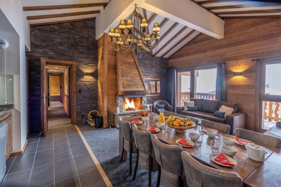 Vacances en montagne Appartement 5 pièces 8 personnes - Chalet Altitude - Val Thorens - Séjour