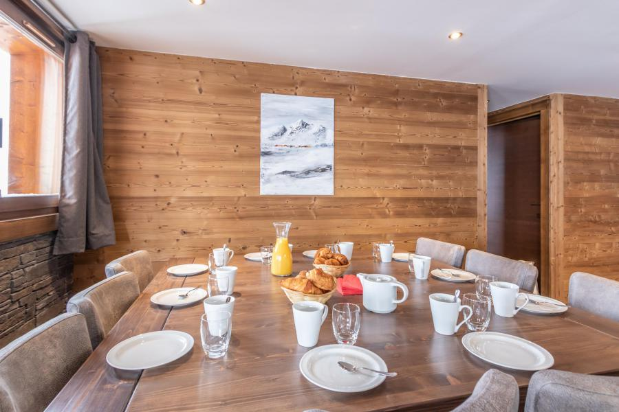 Vacances en montagne Appartement duplex 6 pièces 10 personnes - Chalet Altitude - Val Thorens - Table