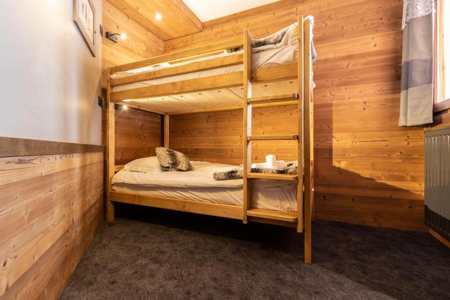 Vacances en montagne Appartement duplex 7 pièces 12 personnes - Chalet Altitude - Val Thorens - Lits superposés