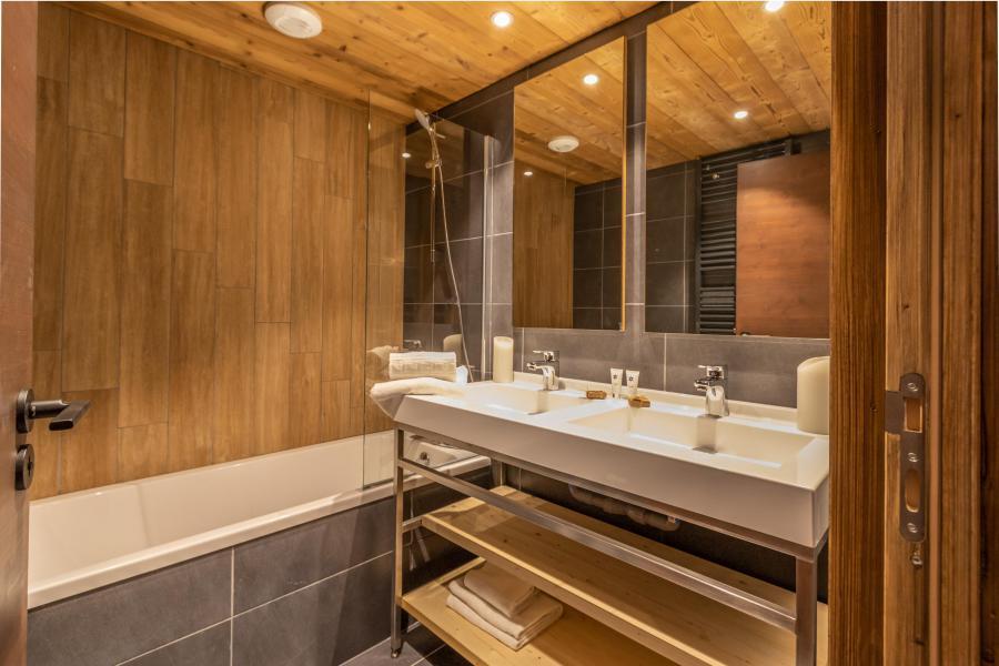 Vacances en montagne Chalet Altitude - Val Thorens - Salle de bains