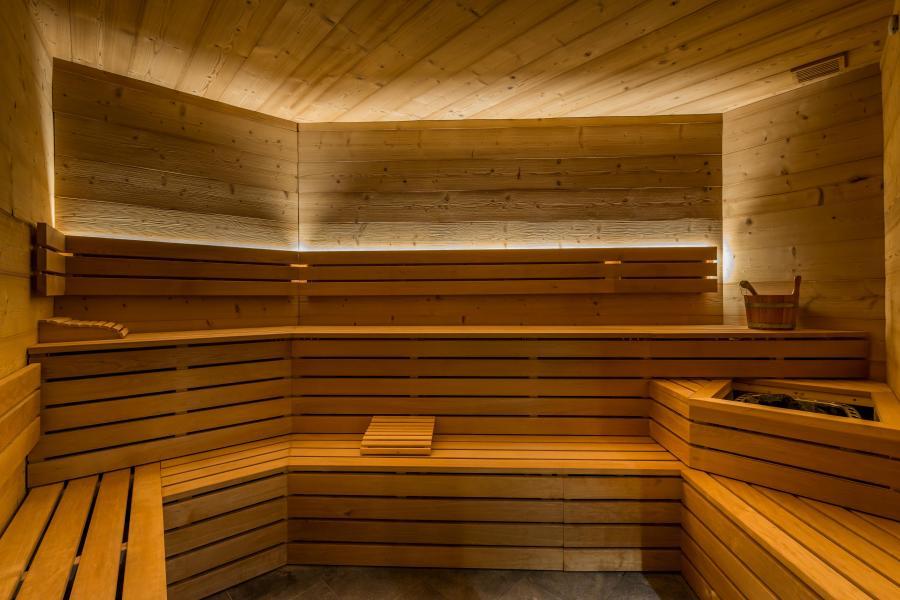 Vacances en montagne Chalet Altitude - Val Thorens - Sauna