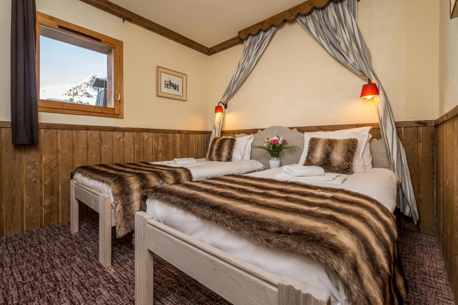 Urlaub in den Bergen Chalet Altitude - Les Arcs - Schlafzimmer
