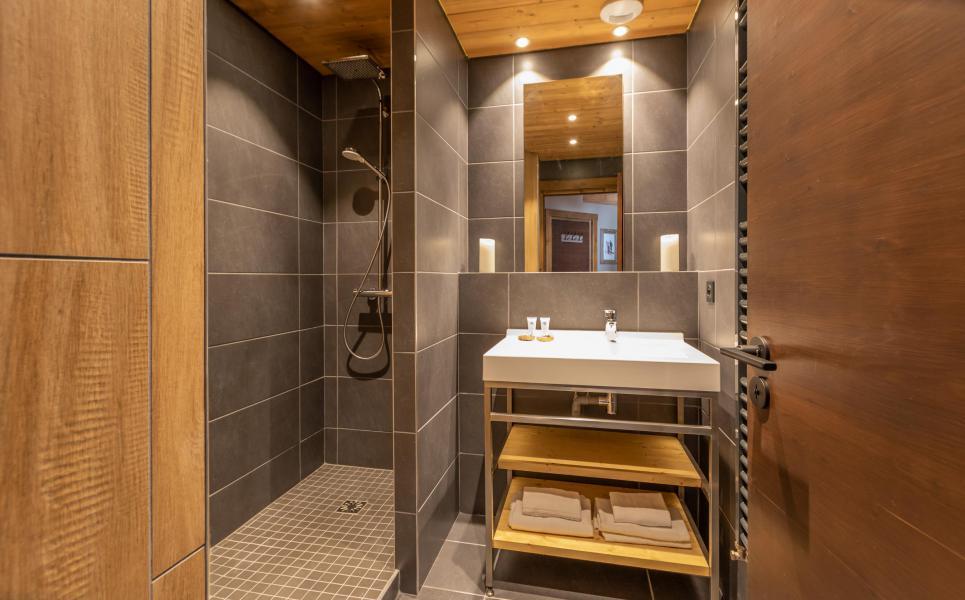 Urlaub in den Bergen Chalet Altitude - Val Thorens - Waschräume