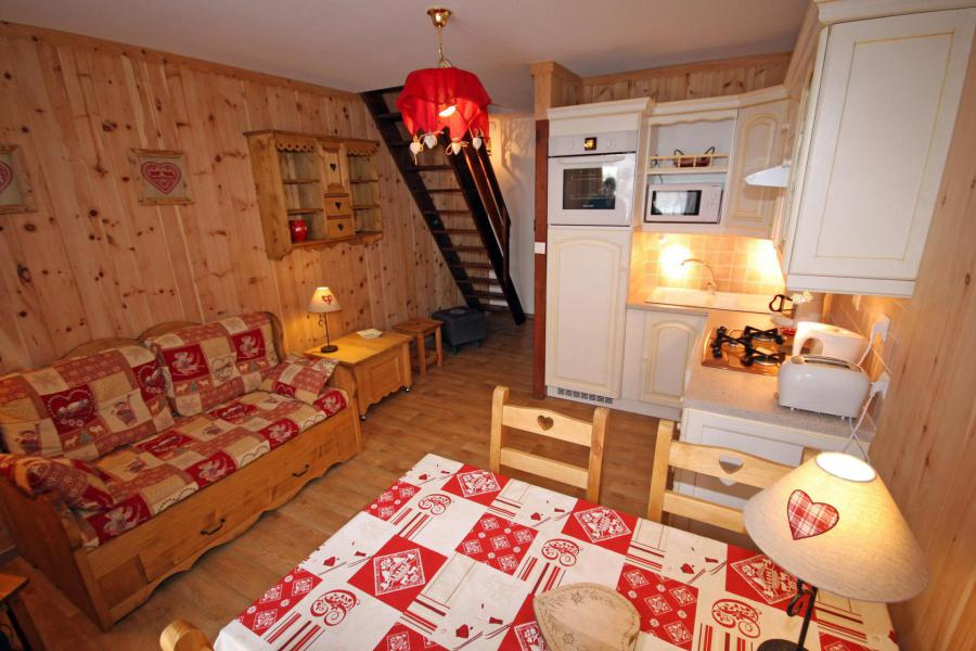 Holiday in mountain resort 3 room duplex apartment 4 people - Chalet Antarès - Valloire