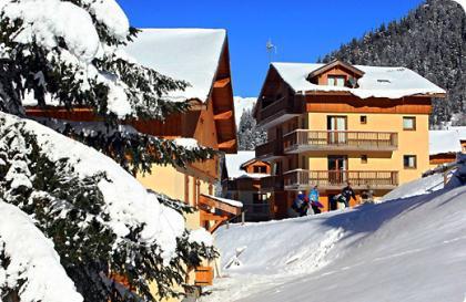 Location au ski Chalet Arrondaz A - Valfréjus - Extérieur été