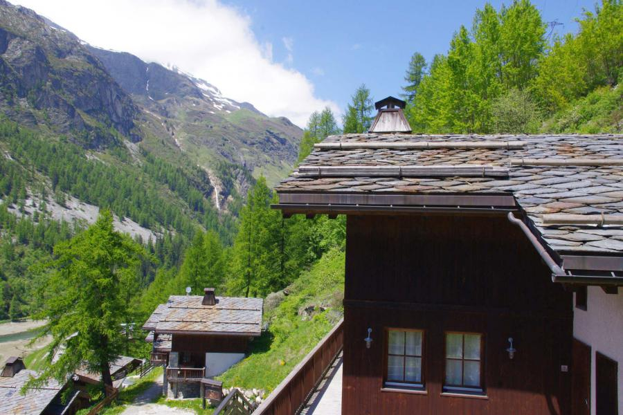Skiverleih Chalet Aspen - Tignes - Draußen im Sommer