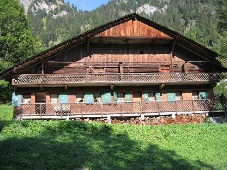 Vacaciones en montaña Chalet 4 piezas para 8 personas - Chalet Au Bon Vieux Temps - Châtel - Verano