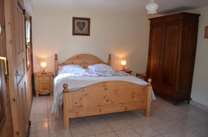 Vacaciones en montaña Chalet 4 piezas para 8 personas - Chalet Au Bon Vieux Temps - Châtel - Cama doble