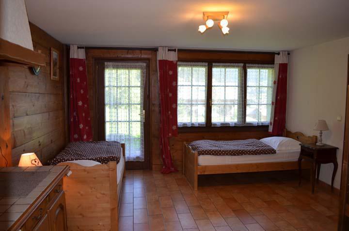 Vacaciones en montaña Chalet 4 piezas para 8 personas - Chalet Au Bon Vieux Temps - Châtel - Habitación