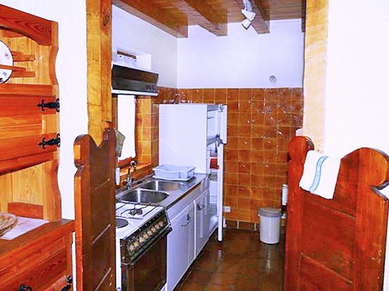 Holiday in mountain resort Chalet Au Coeur de la Vanoise - Champagny-en-Vanoise - Kitchen