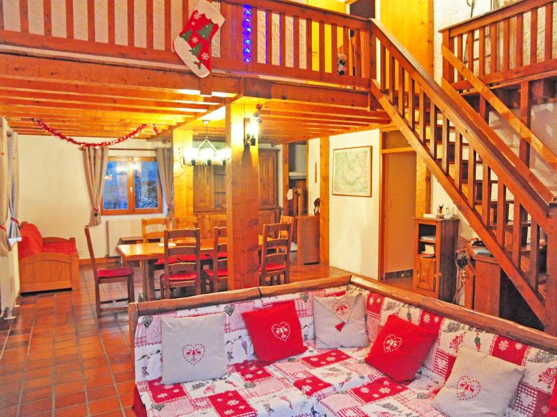 Holiday in mountain resort Chalet Au Coeur de la Vanoise - Champagny-en-Vanoise - Mezzanine