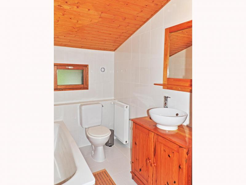 Holiday in mountain resort Chalet Au Coeur de la Vanoise - Champagny-en-Vanoise - WC