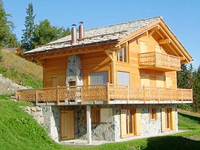 Vacances en montagne Chalet Aurore - Thyon - Extérieur été